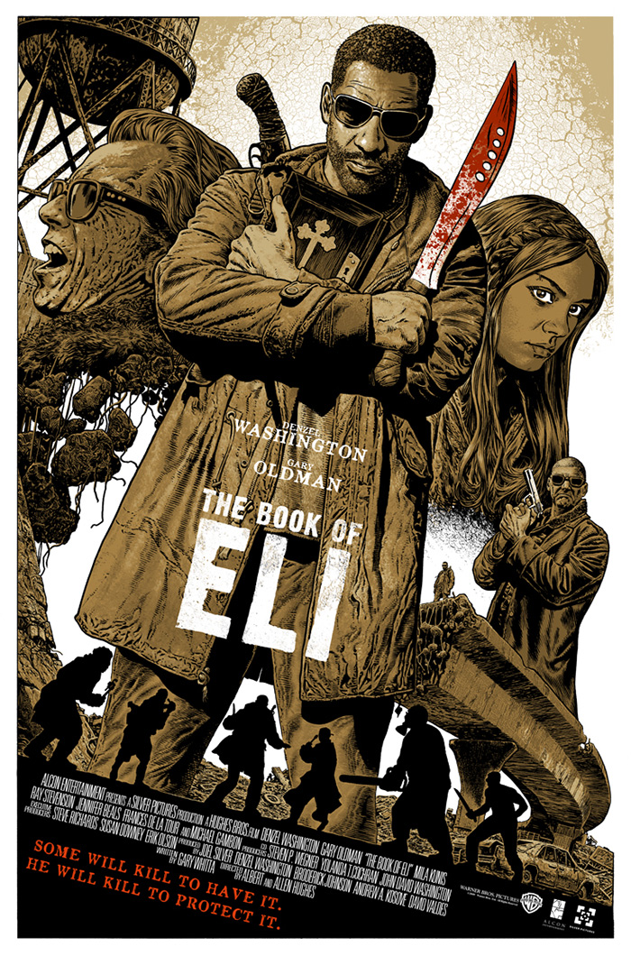 The Booki of Eli poster by Chris Weston