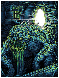 The Fly poster by Dan Mumford