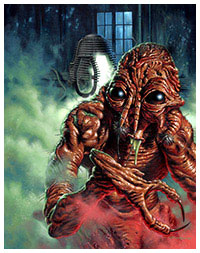 The Fly poster by Jason Edmiston