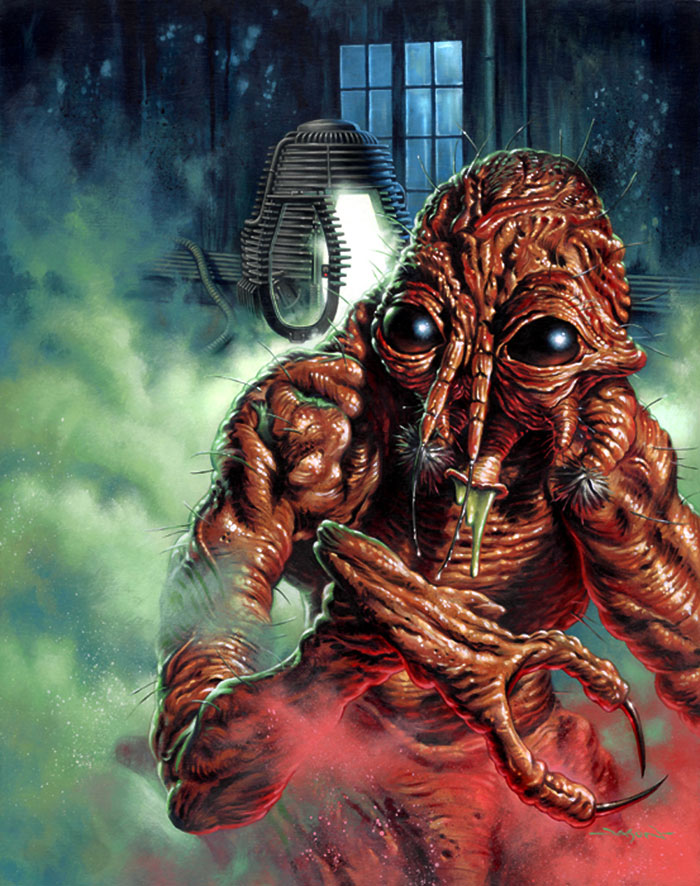 The Fly (1986) artwork by Jason Edmiston