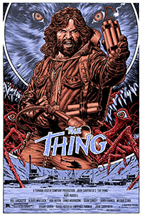 The Thing poster by Chris Weston