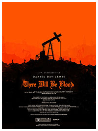 There Will Be Blood artwork by Olly Moss