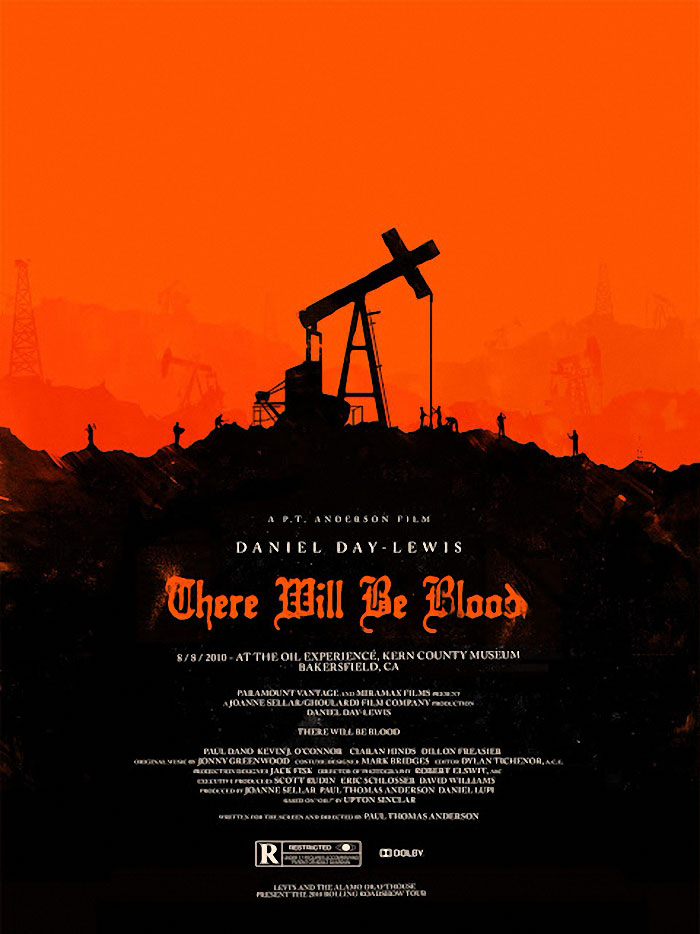 There Will Be Blood poster print by Olly Moss