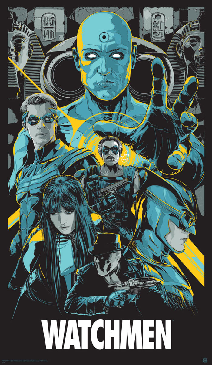Watchmen Poster Art by Ken Taylor